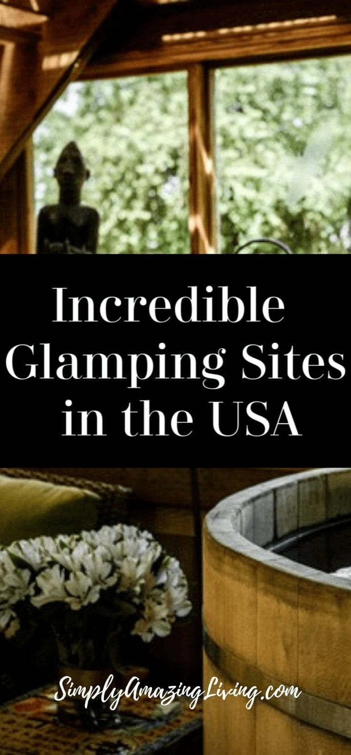 Glamping Sites in the USA