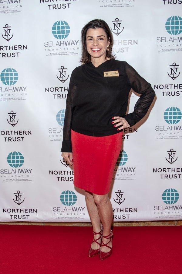 Selah Freedom, Selah Foundation event at Northern Trust #Superbowl53