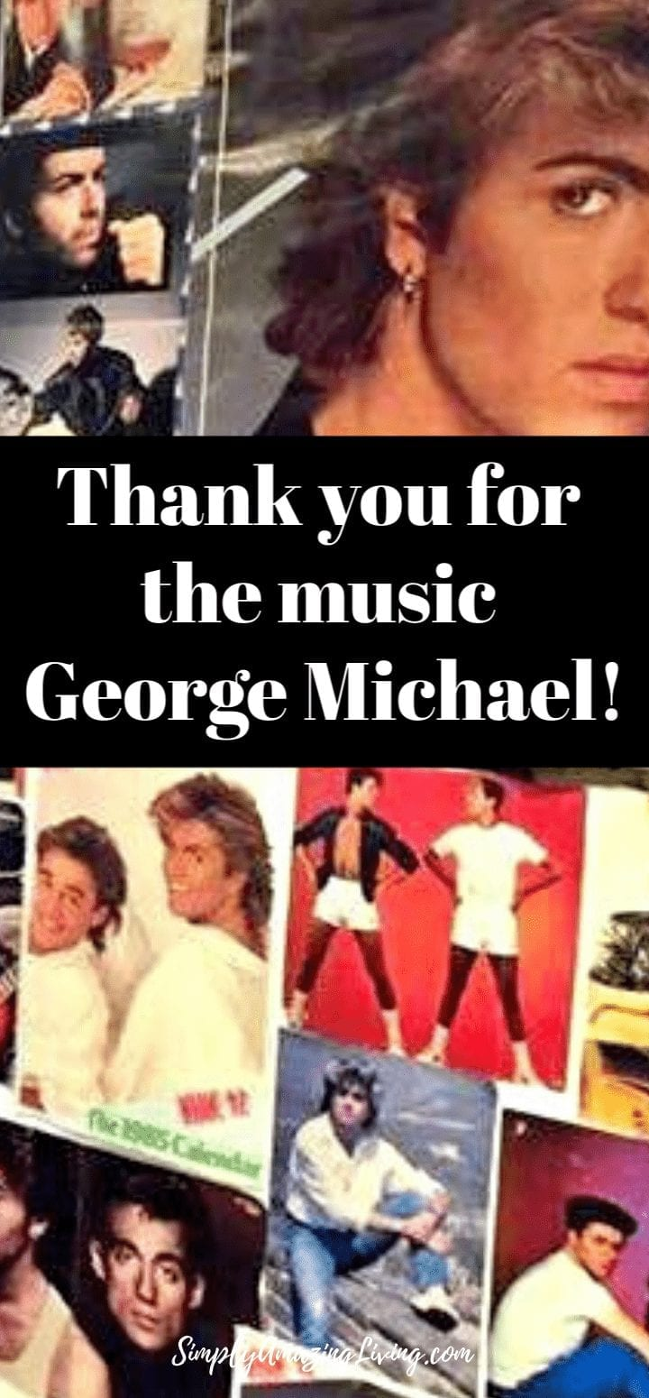 Thank you for the music George Michael