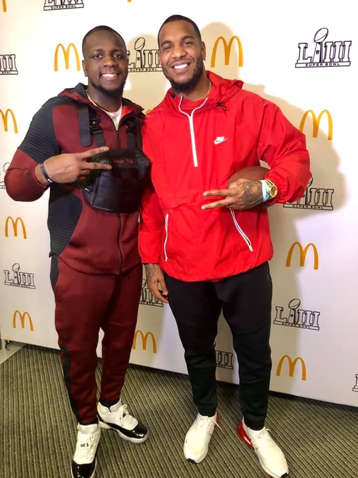 McDonald's Super Bowl NFL Play Family Football Challenge #McDonalds