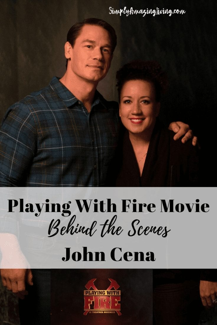 Playing With Fire Movie with John Cena