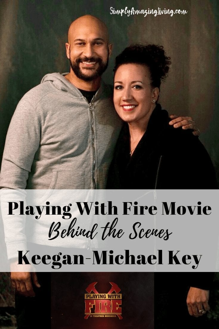 Playing With Fire Movie with Keegan-Michael Key Pin