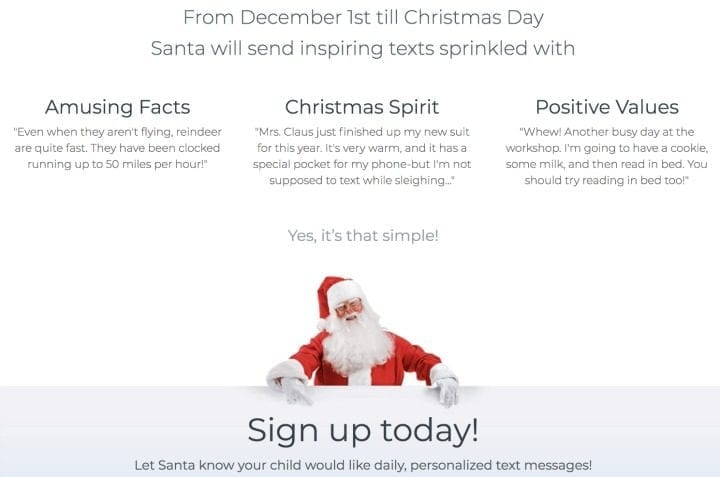 Believe in the Magic of Christmas with Santa.Com