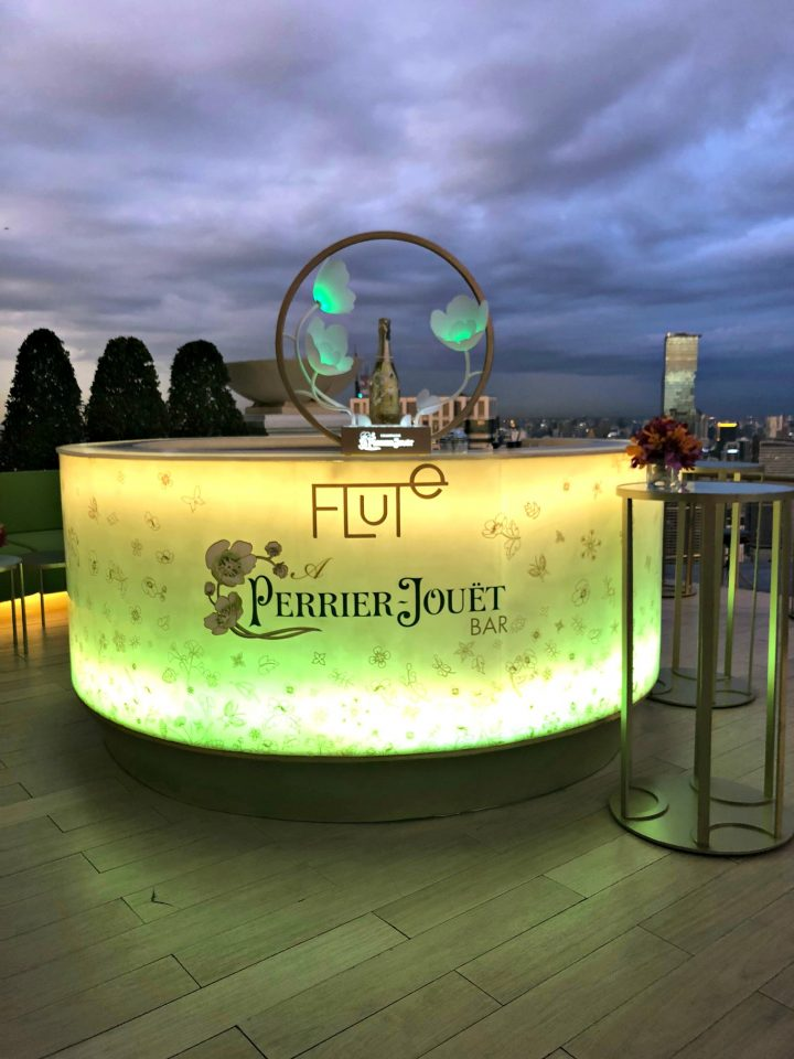 We hope that you lWorld's highest open-air Champagne Bar | lebua's Flute A Perrier-Jouet Bar #experiencelebua