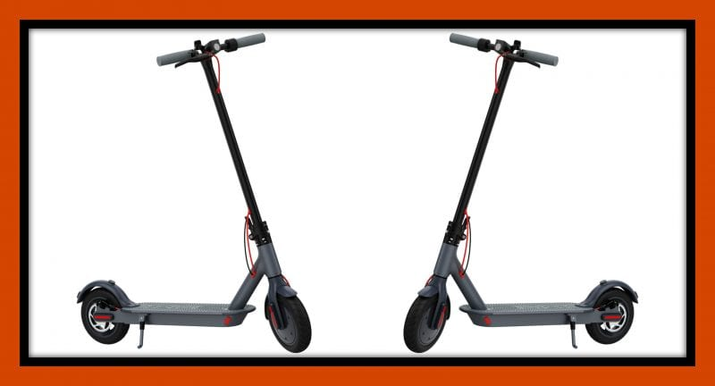 Ride Back to School in Style with Hover-1 Electric Folding Scooter at Best Buy | #BestBuy