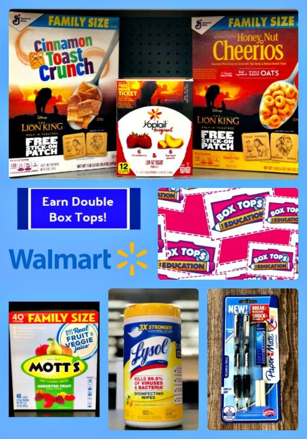 Shop at Walmart and Earn Double Box Tops! #BoxTopsatWalmart