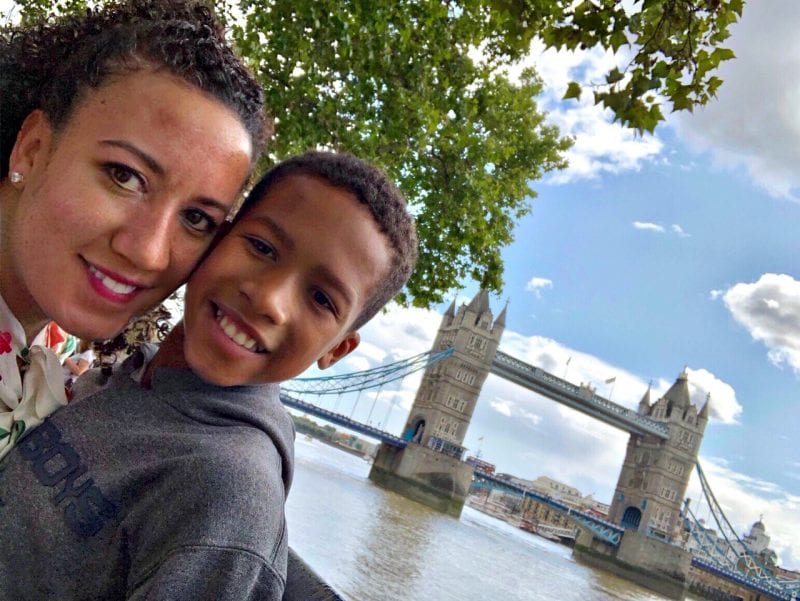 Mother and Son Trip to London, England | Simply Amazing Living