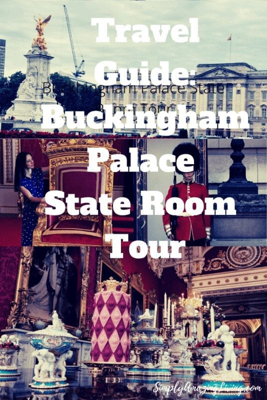 Buckingham Palace State Room Tour