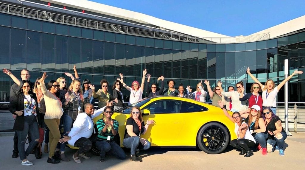 A Girls Guide to Cars Conference at Porsche Drive Experience Center of Atlanta