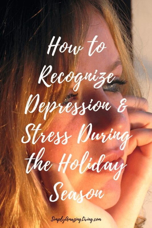 Recognizing deperession and stress during the holiday season