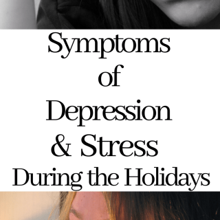 symptoms of depression and stress during the holidays