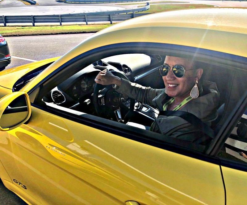 Autumn Murray at Porsche Drive Experience Center of Atlanta