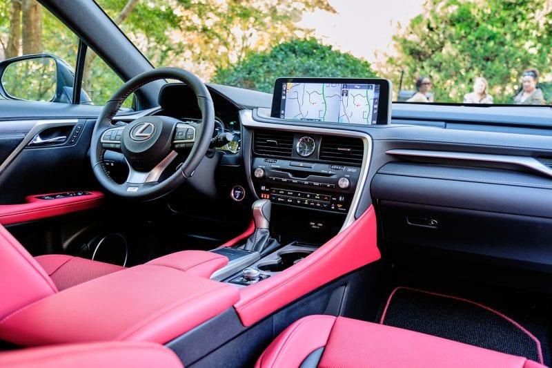 Lexus 2020 RX 450h F Sport Interior