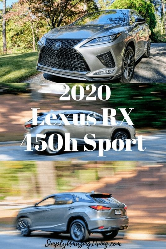 Lexus RX 450h Sport Pin 2