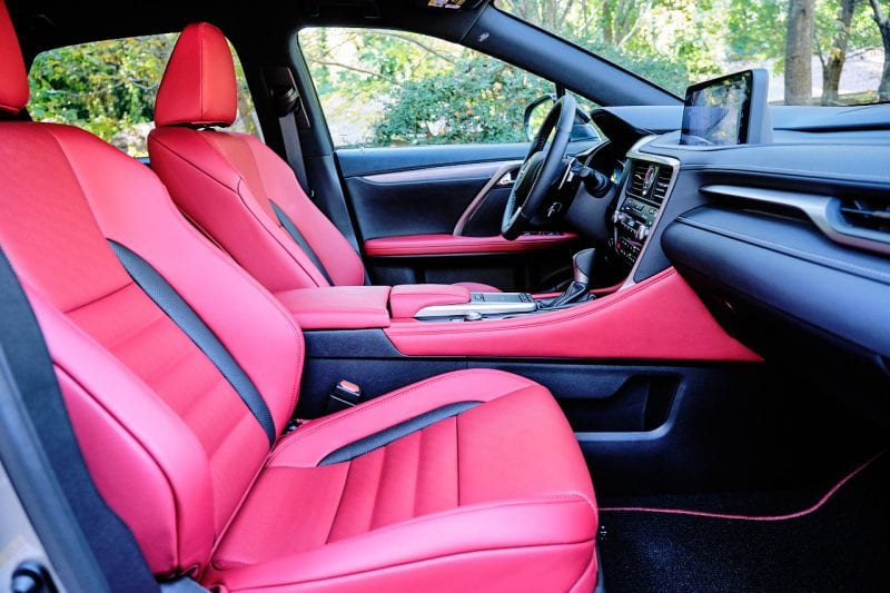Lexus 2020 RX 450h F Sport Interior 2