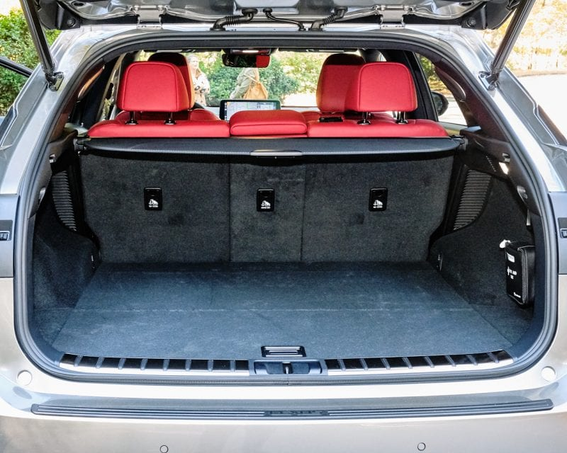 Lexus 2020 RX 450h F Sport Trunk Space