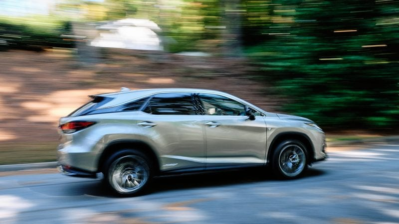Lexus 2020 RX 450h F Sport photo by Jason Connerty