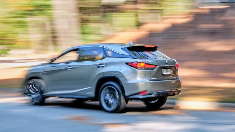 Lexus 2020 RX 450h F Sport photo by Jason Connerty 2