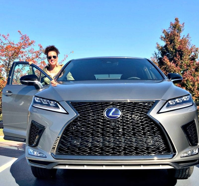 Lexus 2020 RX 450h F Sport with Autumn Murray