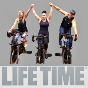 Life Time Athletic Atlanta Cycle competition