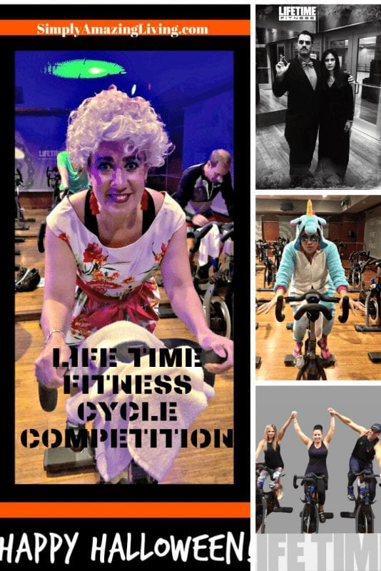 Lifetime Fitness Cycle Competition