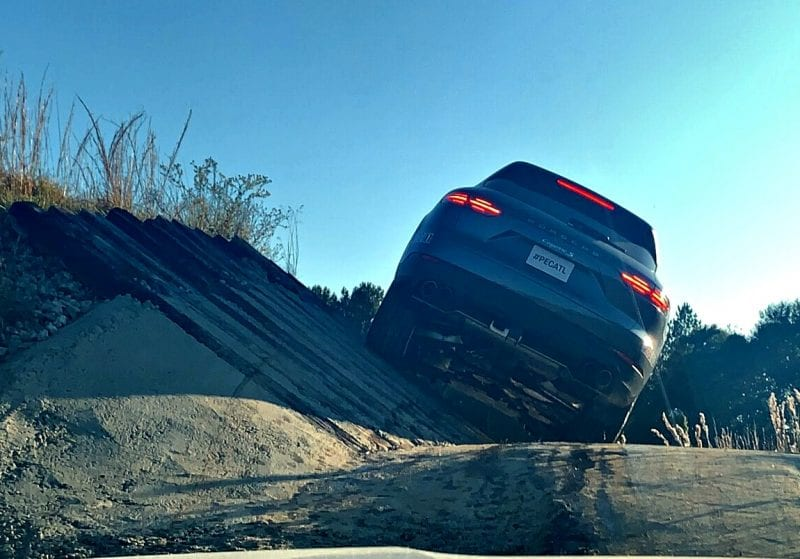 Off-Roading at Porsche Drive Experience Center of Atlanta