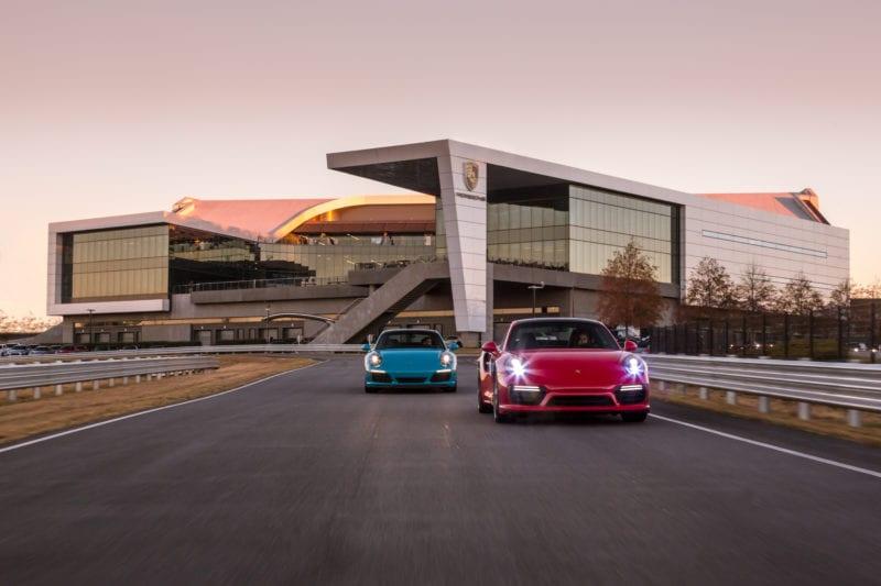 Porsche Drive Experience Center of Atlanta outside view