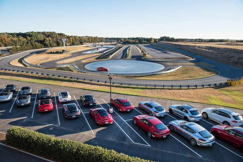 Porsche Experience Center Atlanta Track and Line Up
