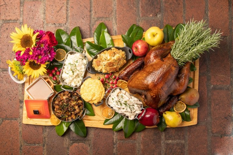 Thanksgiving Meals To-Go at Milton's Cusine & Cocktails In Atlanta