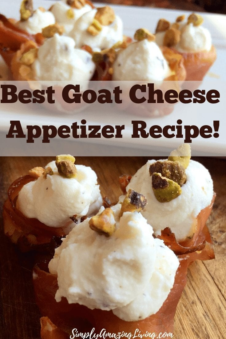 Best Goat Cheese Appetizer Pin