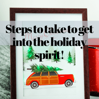 Steps to take to get into the holiday spirit