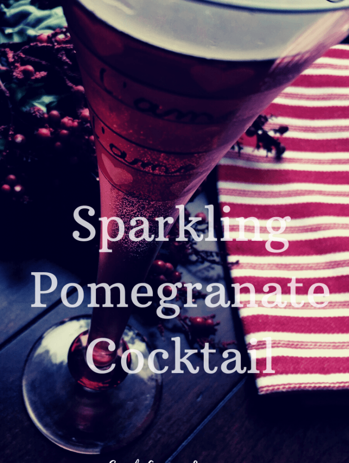Pomegranate Cocktail Pin