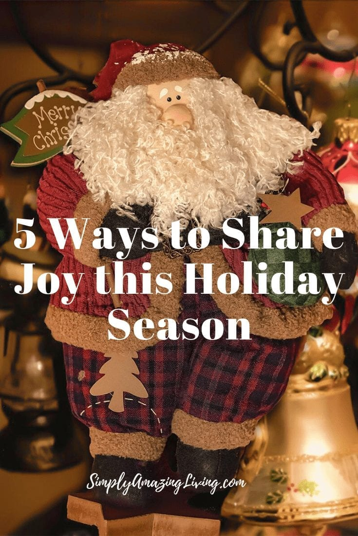 5 Ways to Share Joy this Holiday Season