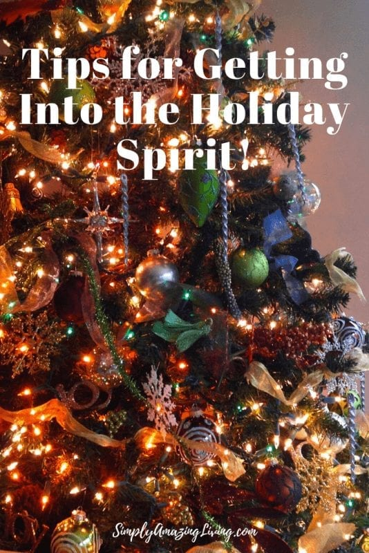 Tips for Getting Into the Holiday Spirit