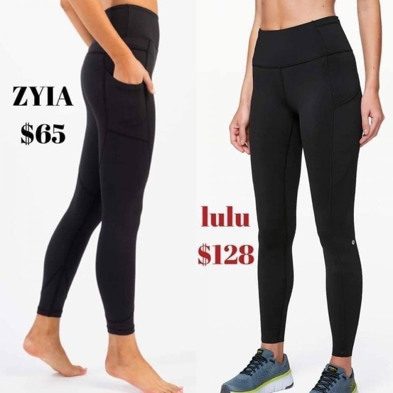 ZYIA Active Activewear for Women | promo flyer