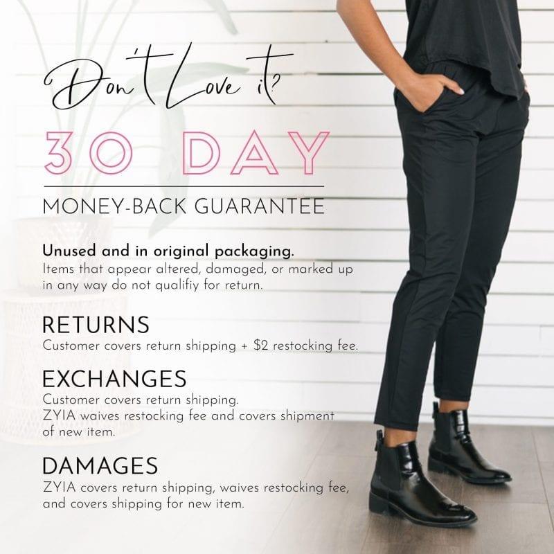 ZYIA Active Activewear for Women | Money-Back Guarantee