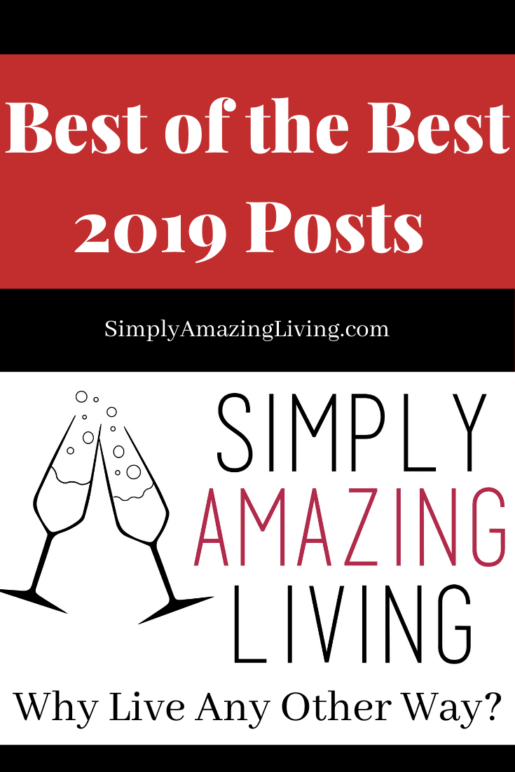 Simplly Amazing Living Best Posts 2019