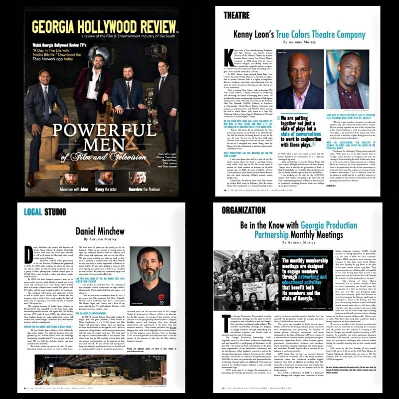 Georgia Hollywood Review AM March articles