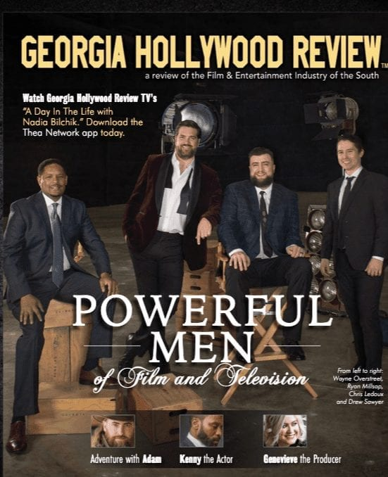 Georgia Hollywood Review March Cover