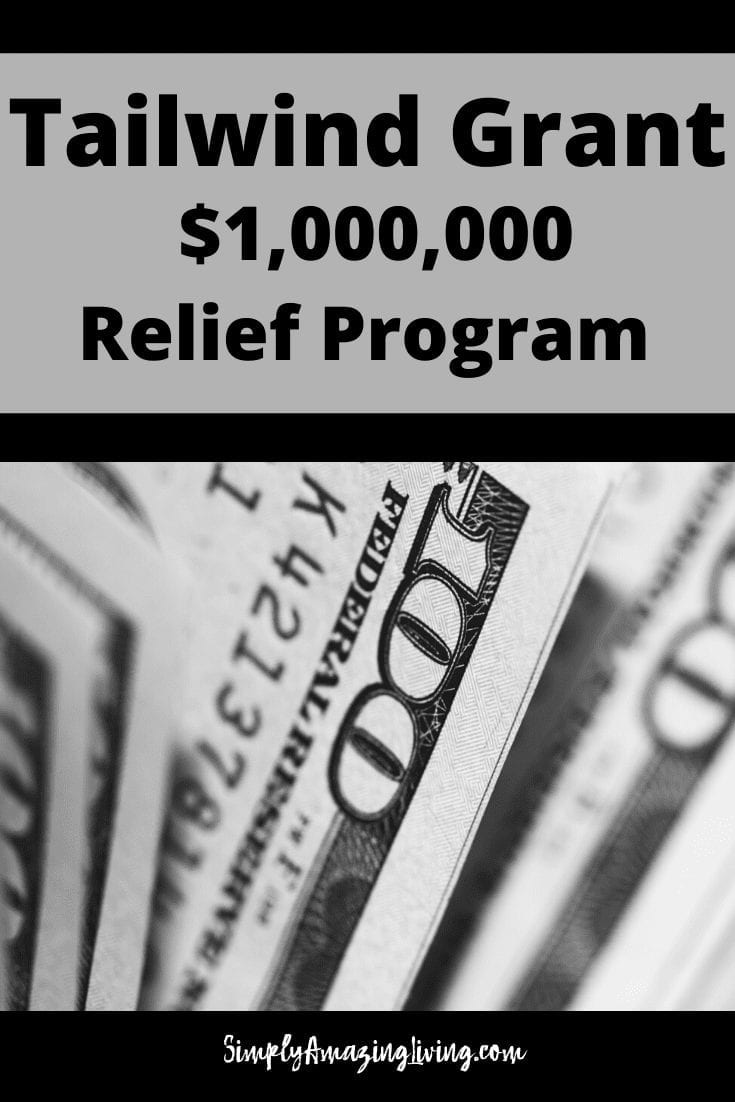 Tailwind Grant Relief Program Pin