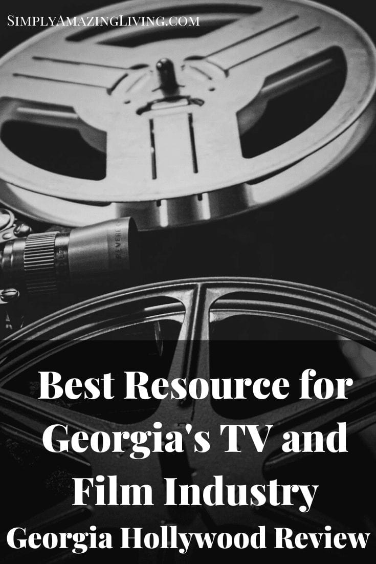 Georgia Hollywood Review Pin 1