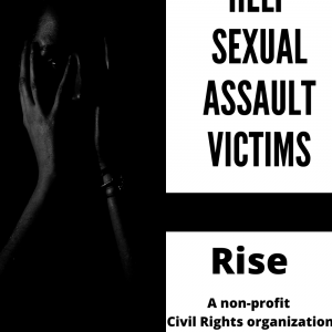 Rise Civil Rights for Sexual Assault Survivors Pin
