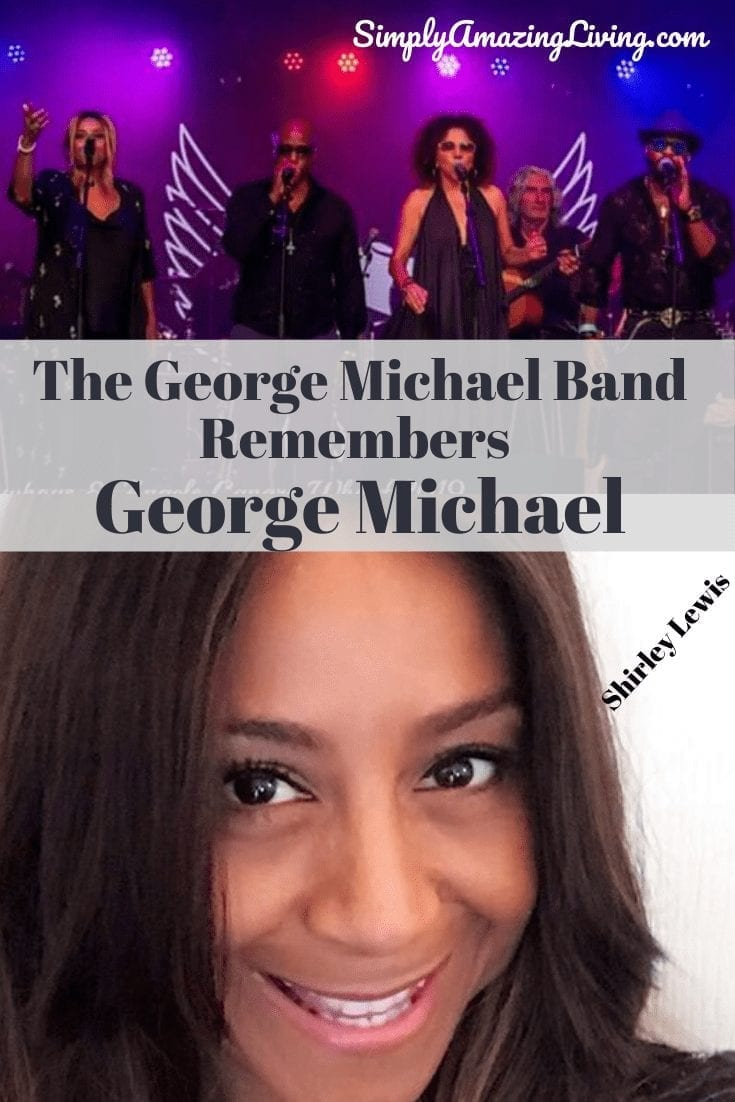 George Michael Band Interview Pin
