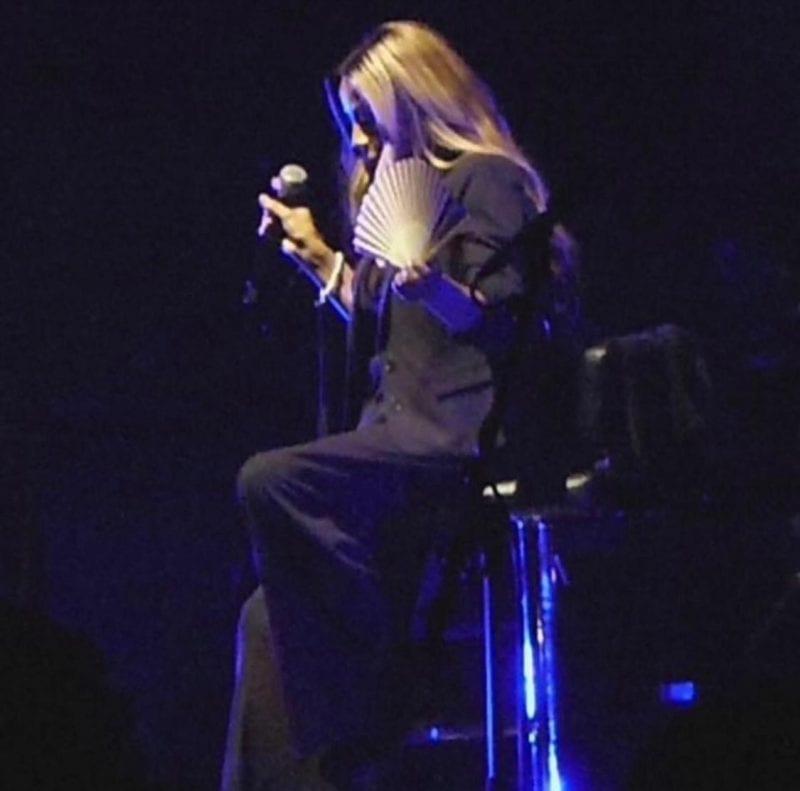 George Michael backup singer Shirley Lewis at Cowboys & Angels Concert