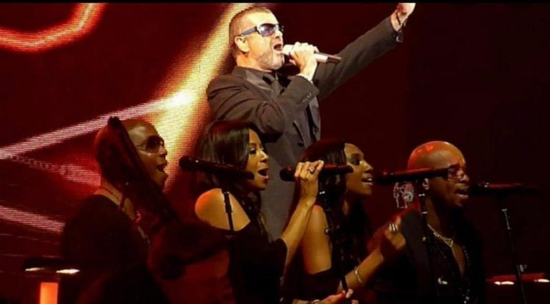 George Michael on Symphonica Tour