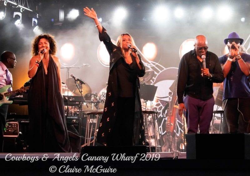 George Michae Band at Cowboys N Angels Concert
