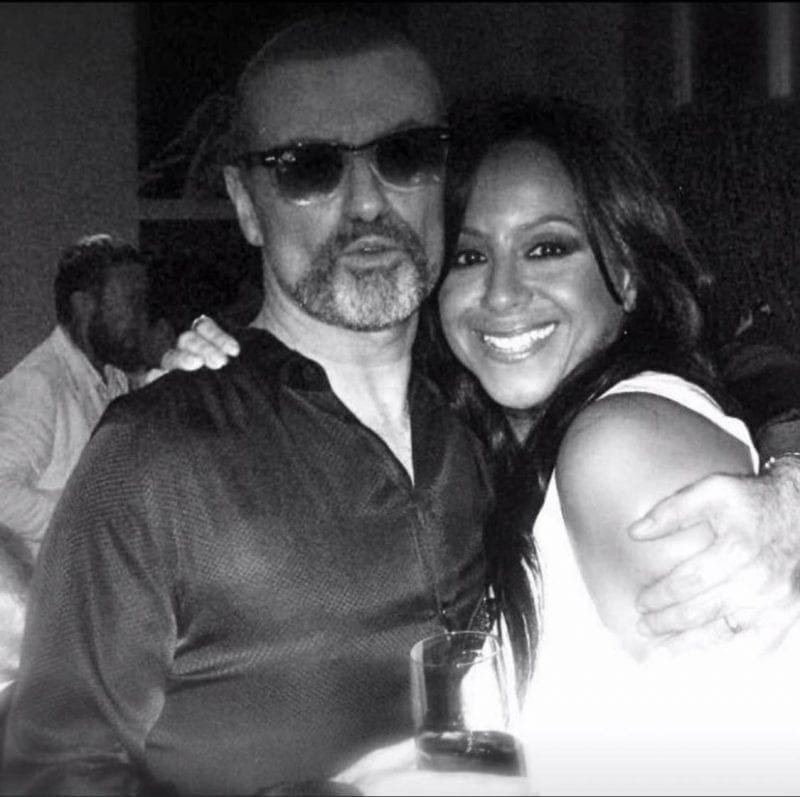 George Michael and Shirley Lewis