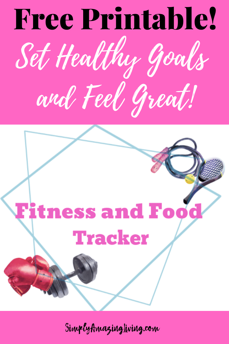 Blueberries are key to healthy living post Fitness and Food Tracker Pin