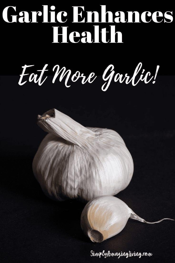Health Benefits of Garlic Post Pin