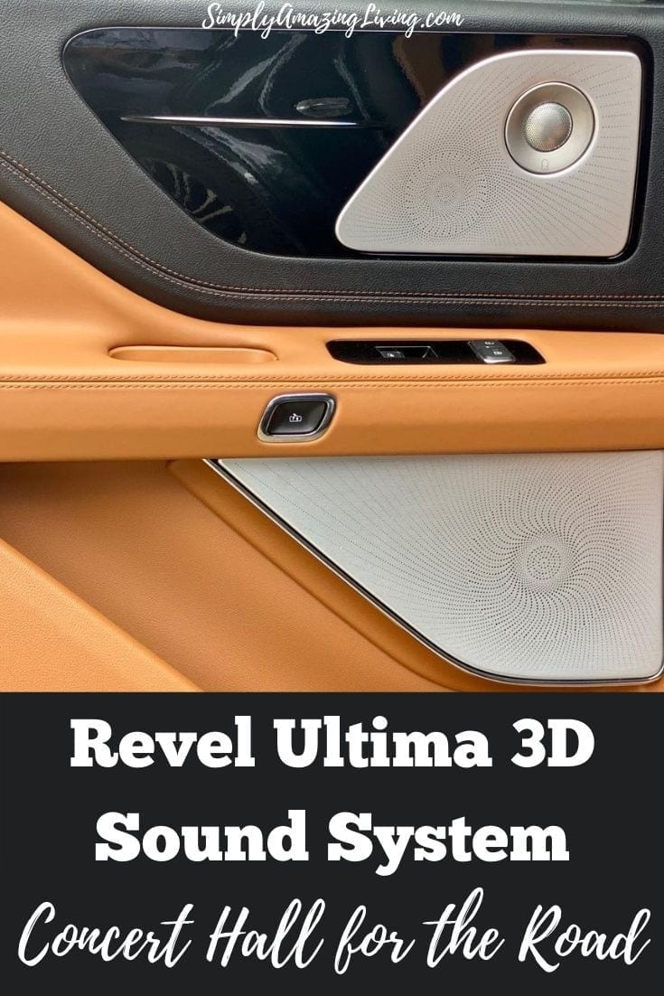 Revel Speakers and sound system Post Pin image